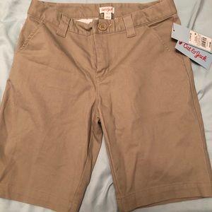Cat & Jack khaki shorts